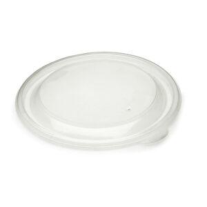 Műanyag PP Kerek tető elviteles dobozhoz 13cm