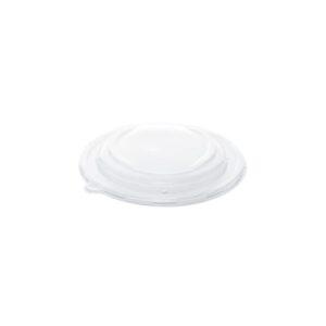 Sabert többször műanyag PP tető cukornád kerek tálhoz Ø21 cm 75db