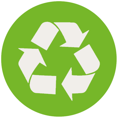 Recycle and recyclable icon